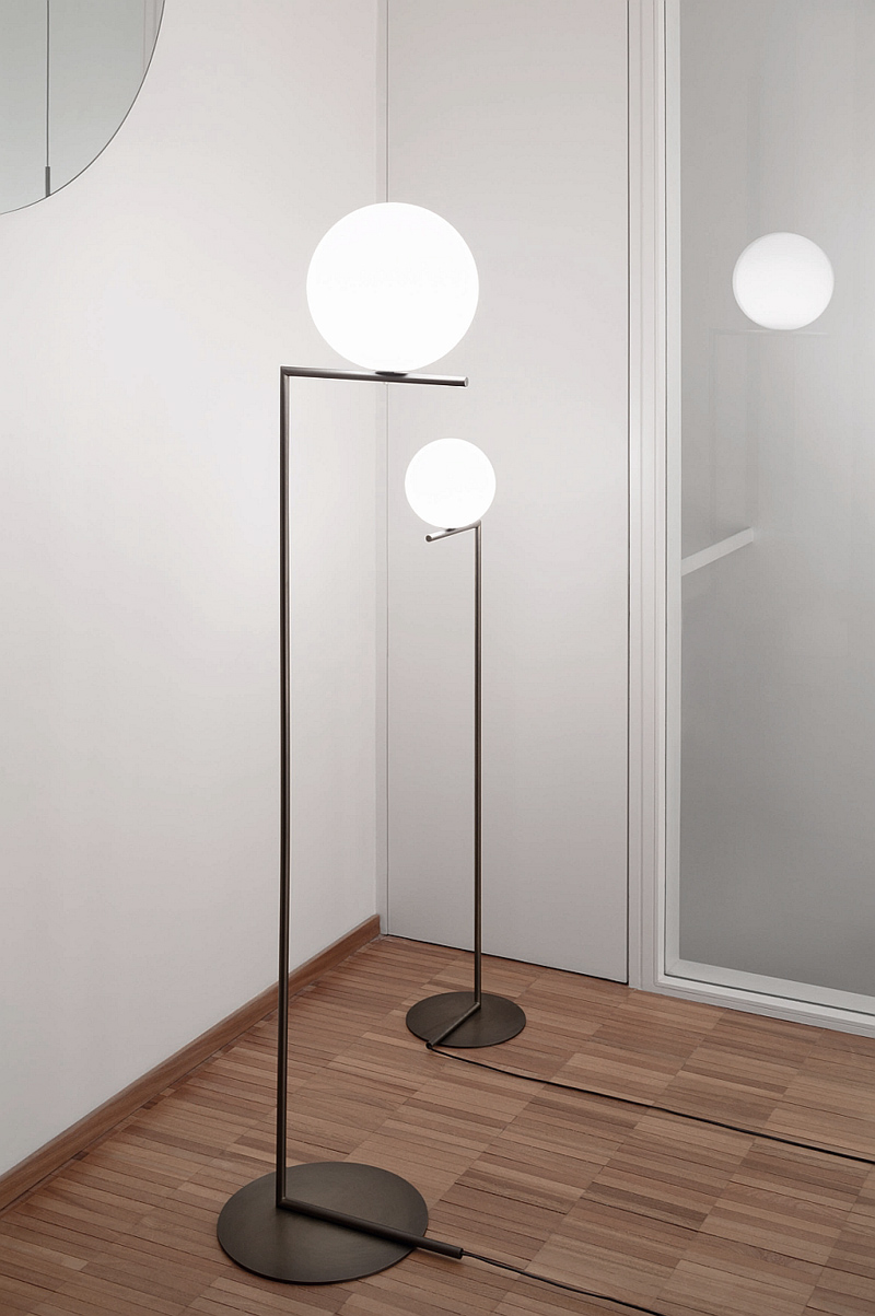 string lights by michael anastassiades for flos living space. Black Bedroom Furniture Sets. Home Design Ideas