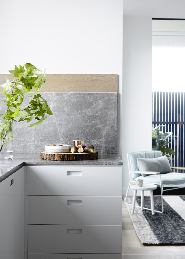 crisp street apartment by mim design melbourne living space