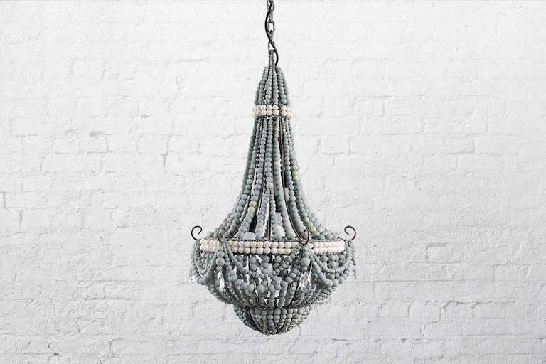 Beautiful Hand Crafted Clay Beaded Chandeliers From South