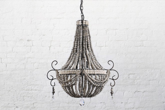 Klaylife_Clay_Beaded_Chandeliers_Lighting_Twist_Small-PaleGrey_WhiteBellyBand